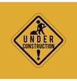 Under contrusction design vector image