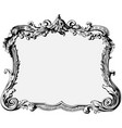 vintage antique frame vector image
