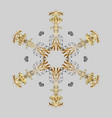 pattern with snowflakes christmas abstract gray vector image