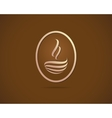 Coffee Cups Icons Stylized Sketch Symbol