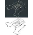 digital multimeter drawings vector image vector image