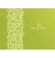 Green lace leaves vertical seamless pattern vector image vector image