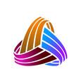 modern abstract branding identity corporate logo vector image