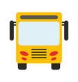 public transport icon image vector image