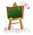 School blacboard vector image