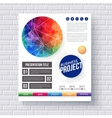 Eye-catching design for a Business Project vector image