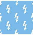 Lightning seamless pattern vector image vector image