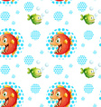 Seamless fish vector image vector image