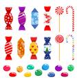 set candies vector image