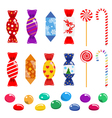 Set of candies vector image