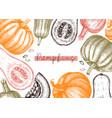 autumn harvest festival design traditional vector image vector image