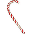 Christmas candy cane vector image