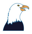 eagle icon image vector image vector image