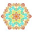 Funny Hexagon Ornament vector image