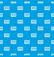 microchip pattern seamless blue vector image