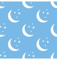Moon seamless pattern vector image vector image