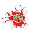 paintball logo emblem for military extreme sports vector image