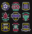 Sport badges Graphic design for t shirt vector image vector image