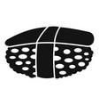 unagi sushi icon simple style vector image vector image