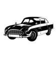 007 vehicle vector image