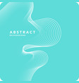 abstract geometric background with dynamic vector image vector image