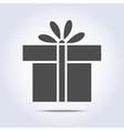 icon present box vector image