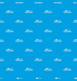 metal company pattern seamless blue vector image vector image