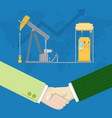 Oil industry production partnership