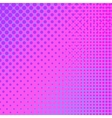 Pink Halftone Pattern vector image vector image