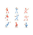 professional league baseball players on field vector image