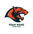 Puma head logo template Design element vector image vector image