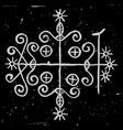 symbol papa legba vector image vector image