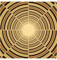 Abstract deep tube light at end of tunnel vector image