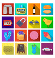 business tourism cooking and other web icon in vector image vector image