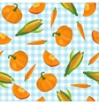 Colorful Vegetables Pattern vector image vector image