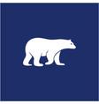 creative polar bear logo design inspiration vector image