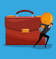 executive businessman avatar vector image vector image