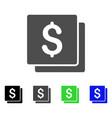 finances flat icon vector image vector image