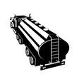 Fuel Tanker Truck Retro