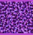 triangle purple pattern seamless vector image vector image