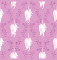 unicorn rainbow seamless pattern vector image vector image