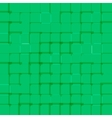 Abstract bright background with green squares vector image vector image