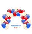 American Independence Day Decoration vector image vector image