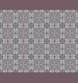 azulejos tile seamless pattern vector image vector image