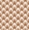 Balinese Flower Pattern vector image vector image
