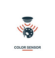 color sensor icon from sensors icons collection vector image vector image