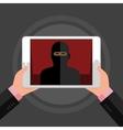 Concept of terrorism vector image vector image