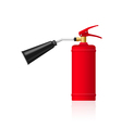 fire extinguesher vector image