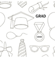 Graduation elements set pattern vector image vector image