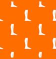 human leg pattern seamless vector image vector image